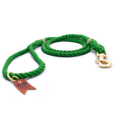 Green Harbor Three Strand Rope Dog Leash