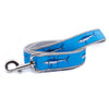 Light Blue Mako Shark Ribbon Dog Leash