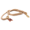 Natural Tan Harbor Three Strand Rope Dog Leash