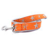 Orange Starfish Ribbon Dog Leash