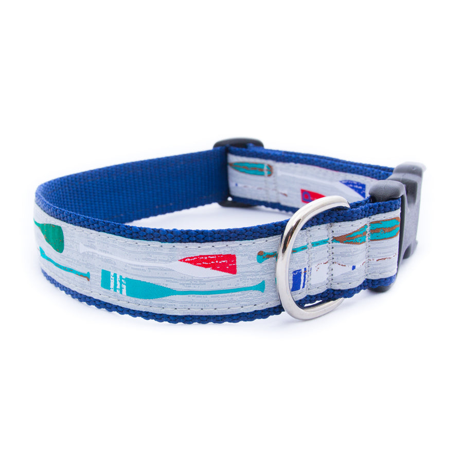 Paddles Ribbon Dog Collar
