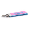 Pink Lobster Ribbon Key Fob