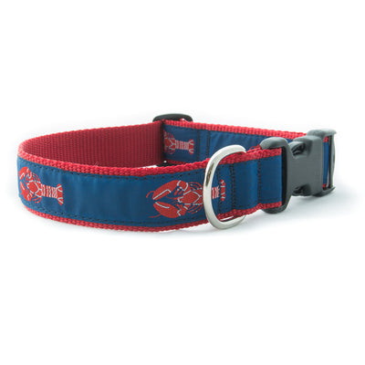 Red Lobster Ribbon Dog Collar