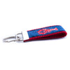 Red Lobster Ribbon Key Fob