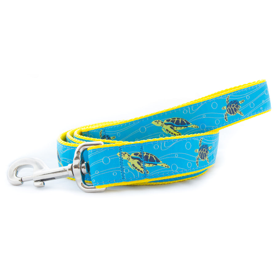 Sea Turtle Ribbon Dog Leash
