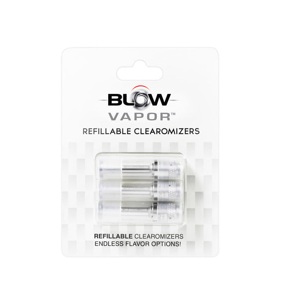 3 Pack Refillable Clearomizers (CS1)