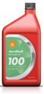 AEROSHELL AVIATION OIL 100 SAE 50 MINERAL OIL  QUART