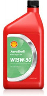 AEROSHELL AVIATION OIL 15W-50 MULTIGRADE  QUART
