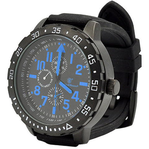 Calibrator Tactical S&W Wrist Watch (Black & Blue)