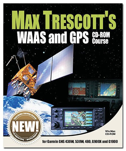 MAX TRESCOTT'S WAAS AND GPS CD-ROM