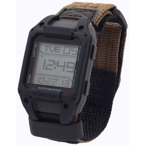 Recon Black Digital Watch