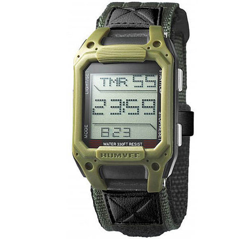 Recon Green Digital Watch with Nylon Strap