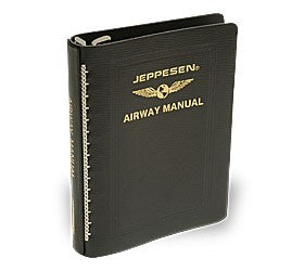 "Jeppesen Standard Leather 2"" Airway Binder"