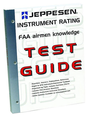 Jeppesen Instrument Test Guide