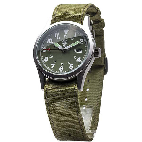 Smith & Wesson OD Green Military Watch