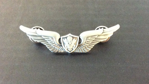 Medium Silver Pilot Wings