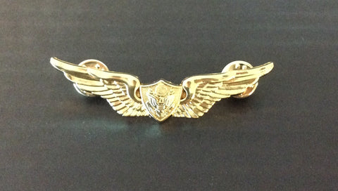 Small Gold Pilot Wings