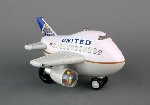 United Airlines Bump & Go Airplane