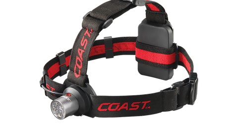 Coast HL4 Dual Color Utility Headlamp