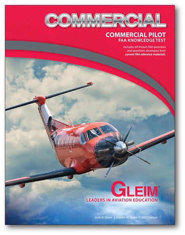 GLEIM COMMERCIAL PILOT FAA KNOWLEDGE TEST
