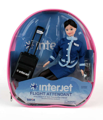 Interjet Flight Attendant Doll