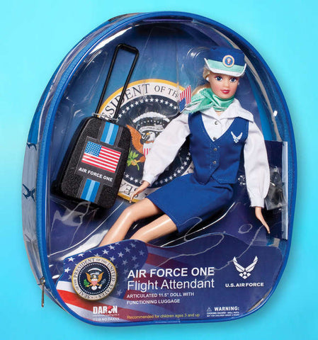 Air Force One Flight Attendant Doll (special order)