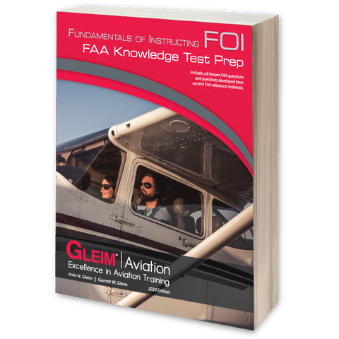Gleim Fundamentals Of Instructing FAA Knowledge Test Prep – 2020 Edition