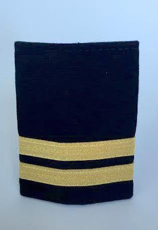 2 Bar Gold Epaulette