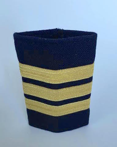 3 Bar Gold Epaulette