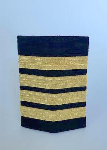 4 Bar Gold Epaulette