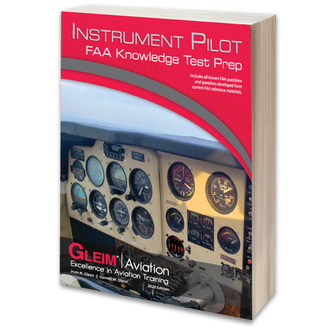 Gleim Instrument Rating FAA Knowledge Test Prep – 2020 Edition