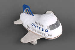 United Airlines Plush Toy (with sound)