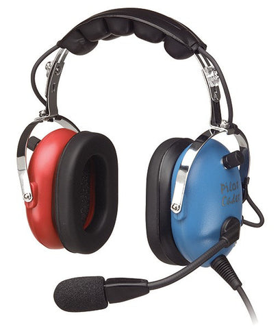 Pilot USA PA-1151ACB Youth Red & Blue Headset