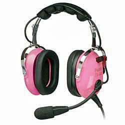 Pilot USA PA-1151ACG Youth Pink Headset