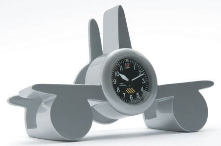 Airplane Business Card Holder Clock