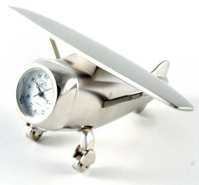 Hi-Wing Airplane Clock