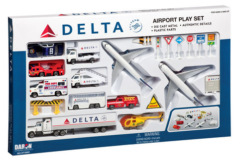 Delta Airlines Playset (25 pc)
