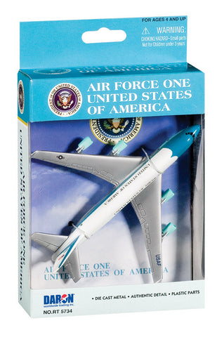 Air Force One Single Plane