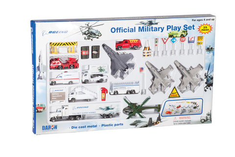 Boeing Military Playset (20 pc)