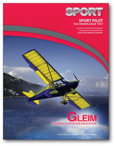 GLEIM SPORT PILOT FAA KNOWLEDGE TEST