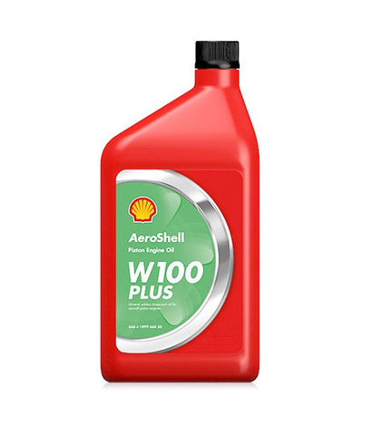 AEROSHELL AVIATION OIL W100 PLUS  QUART