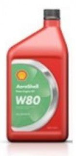 AEROSHELL AVIATION OIL W80  QUART