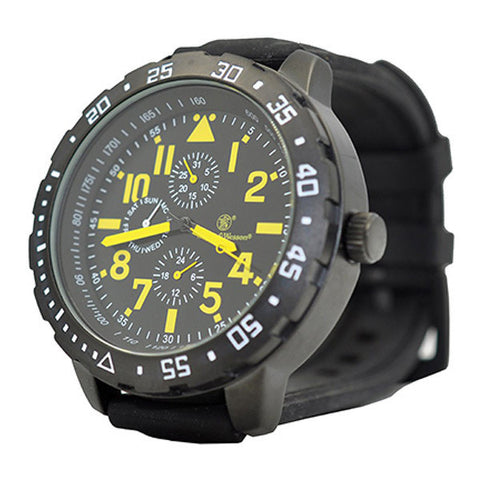 Calibrator Tactical S&W Wrist Watch (Black & Yellow)