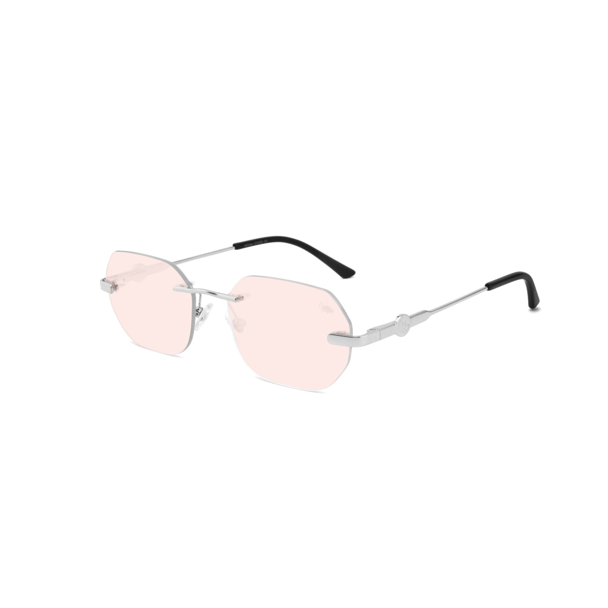 Willow Pink Flash | Silver