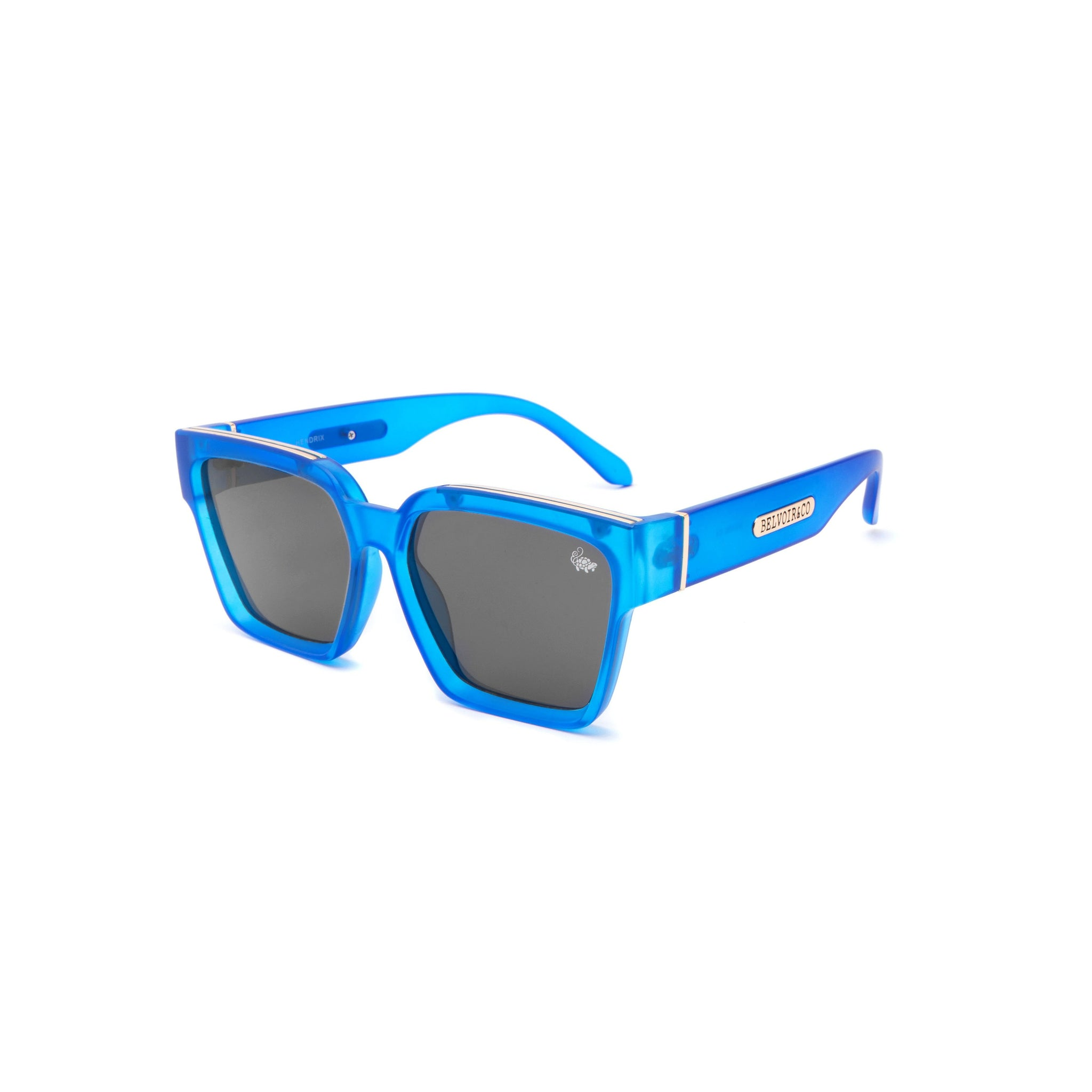 Hendrix Transparent Blue