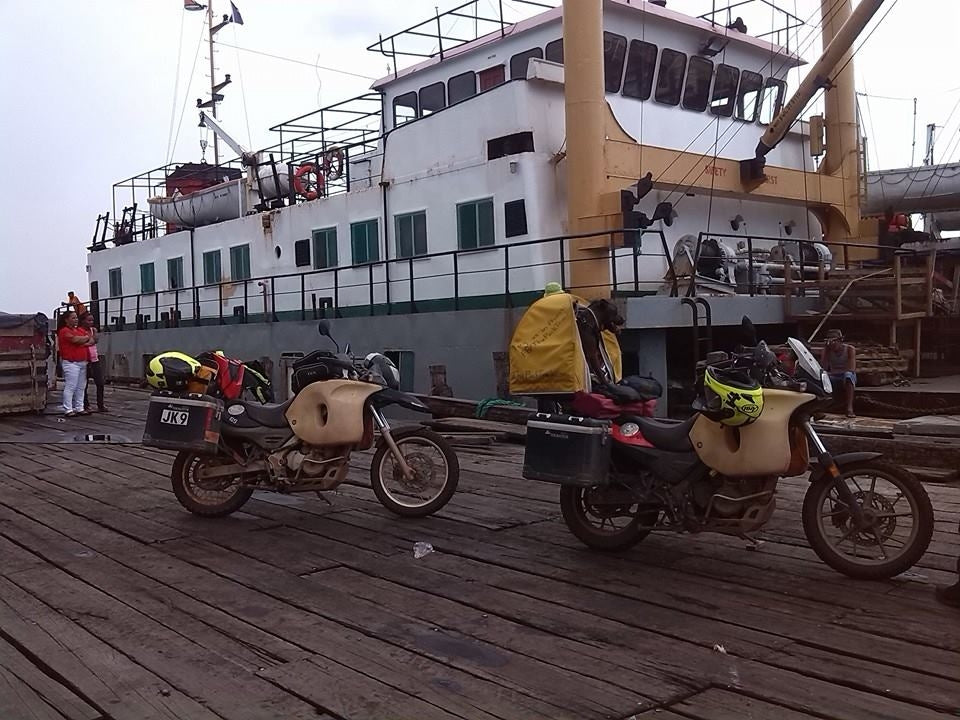 Guyana to Venezuela by boat