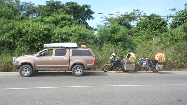 Our Convoy in Cabinda