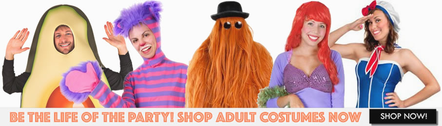 Adult and Unique Funny Halloween Costumes