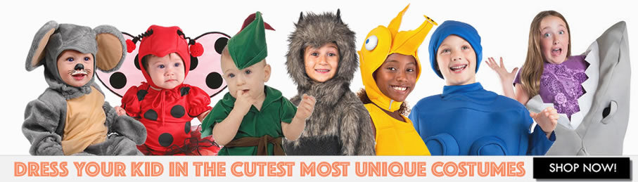 Kids and Children's Halloween Costumes