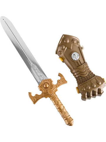 Child Knight Sword & Arm Guard-COSTUMEISH